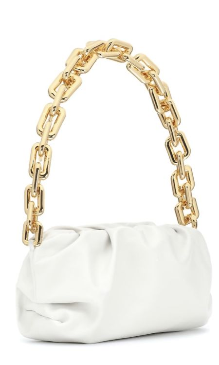 Cream Chain Bag