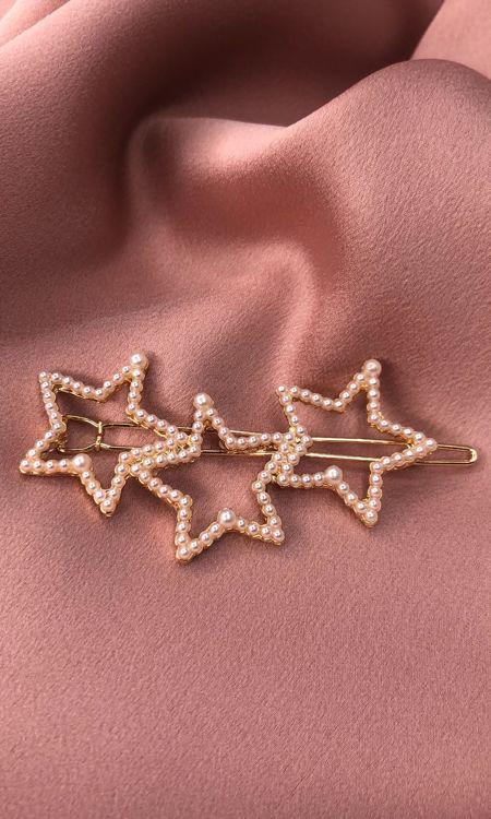Pearl Star Clip
