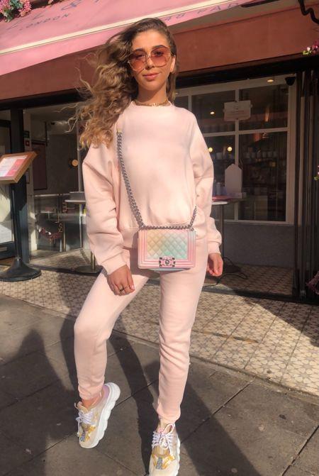 Blush Pink Tracksuit