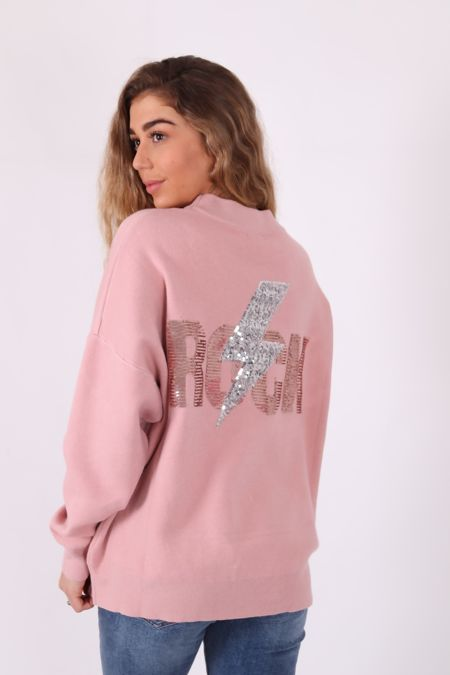 Dusty Pink Rock Jumper